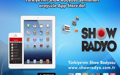 Show Radyo Yeni iPhone ve iPad Uygulaması Appstore'da
