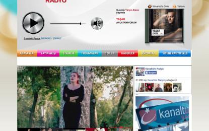 Kanalturk Radyonun Sitesindeki hata