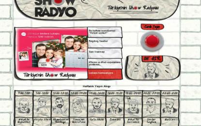 Show Radyo'nun Yeni Web Sitesi Yayında