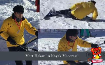 Dj Mert Hakan'ın Kayak Macerası!