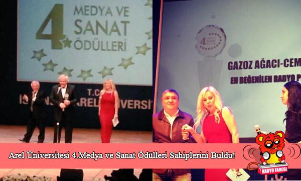 Cem Arslan En Beğenilen Radyo Programcısı Seçildi!