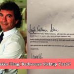 Cem Hakko Hangi Radyocuya Mektup Yolladı?