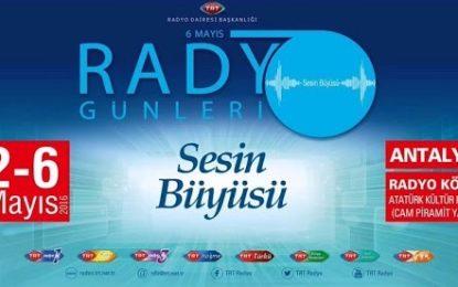TRT Radyo Günleri Etkinliği Başlıyor!