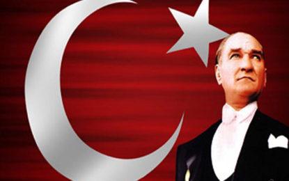 Ulu Önder Mustafa Kemal Atatürk'ü Saygıyla Anıyoruz
