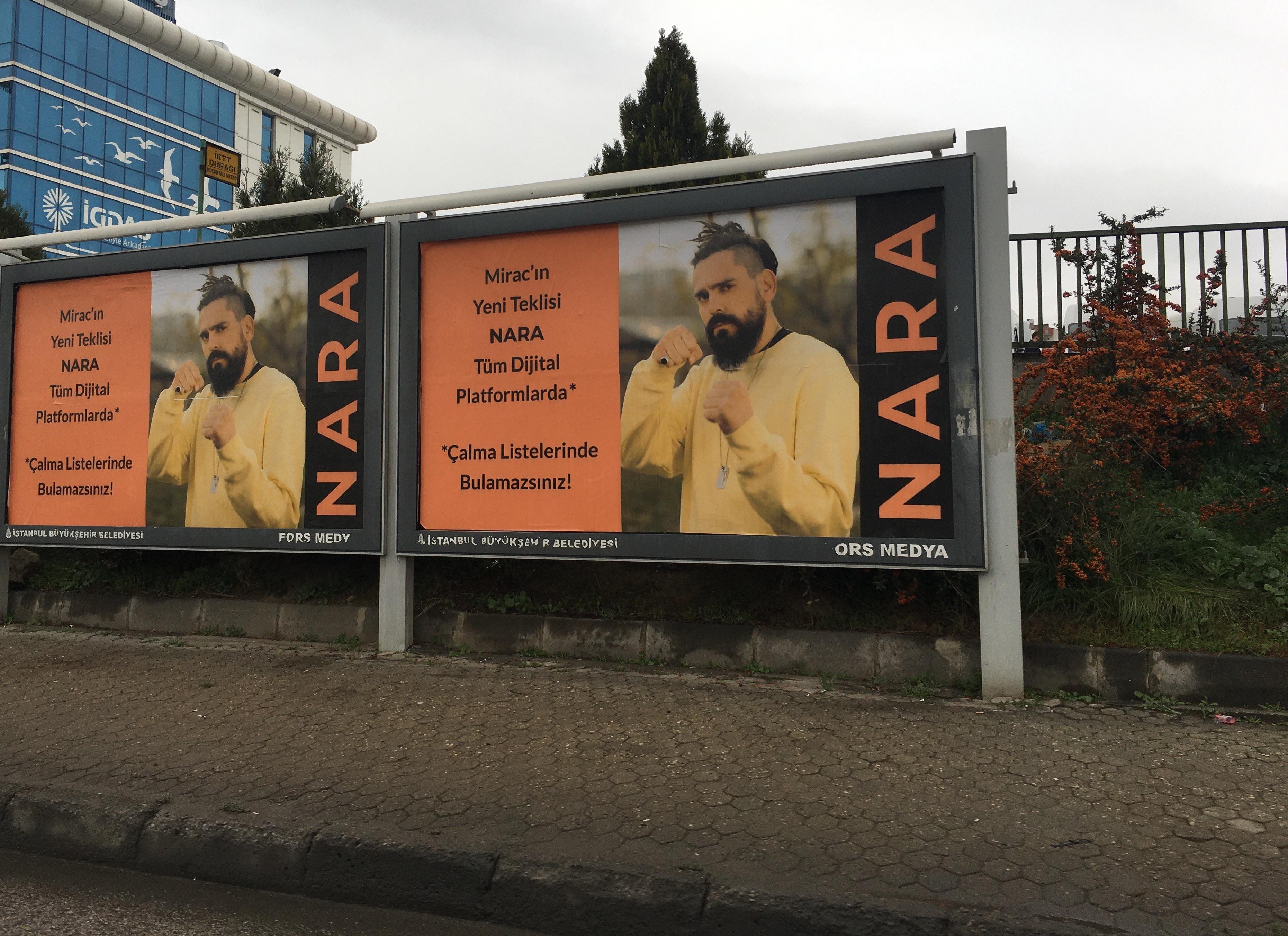RAP SANATÇISI MİRAC, SPOTIFY'I TİYE ALDI